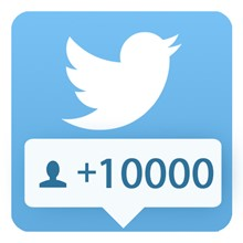 10000 followers Twitter