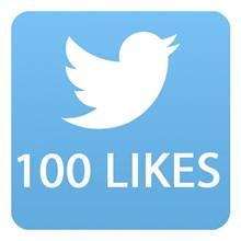 100 likes Twitter