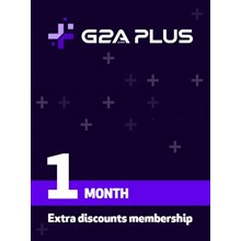 G2A PLUS 1 - Month Prepaid Gift Card - GLOBAL