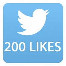 200 likes Twitter
