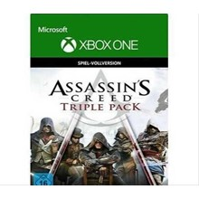 Assassin´s Creed Triple Pack XBOX ONE DIGITAL KEY