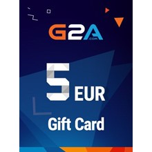 G2A Gift Card G2A.COM Key GLOBAL 5 EUR