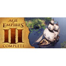 Age of Empires III 2007 - STEAM Account / GLOBAL game