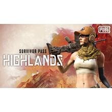 PUBG - Survivor Pass: Highlands (Steam Global Key)