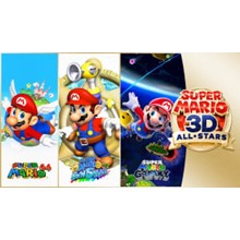 Mario 3D + Pokémon Shield + 3 TOP Games Nintendo Switch