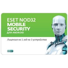 ESET NOD32 MOBILE SECURITY 1 year 3 devices