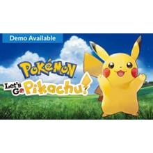 Pokémon: Let´s Go, Pikachu! Nintendo Switch