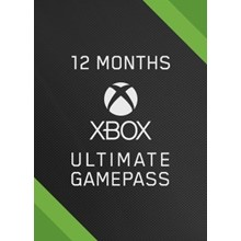 XBOX GAME PASS ULTIMATE 12 months + EA PLAY (RU/TR)