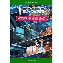 🟢Space Engineers Ultimate Edition 2019 XBOX ONE KEY🔑