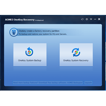 AOMEI OneKey Recovery Pro LIFETIME LICENSE