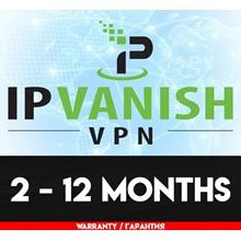 IPVanish VPN l Subscription from 2 - 12 m. l WARRANTY