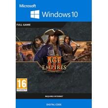 Age of Empires III: Definitive Edition -- Region free