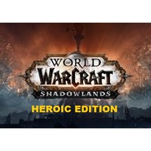 WOW: SHADOWLANDS HEROIC EDITION ✅(USA/NA)+GIFT