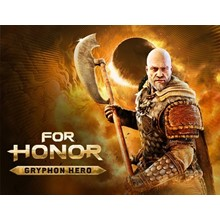 For Honor: DLC Gryphon Hero (Uplay KEY) + GIFT