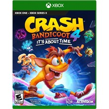 CRASH BANDICOOT 4: IT'S ABOUT TIME XBOX ONE & SERIES🔑
