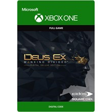 DEUS EX: MANKIND DIVIDED - DELUXE EDITION XBOX🔑KEY