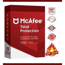MCAFEE TOTAL PROTECTION 2021 FOR 2 YEAR