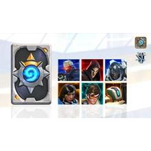 Overwatch-themed card back (CD-Key Region free)