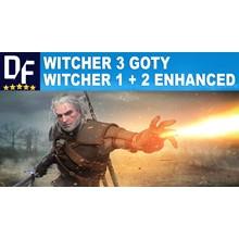 ⚡ WITCHER 3 «GOTY» + Witcher 2 + 1 (✔ALL DLC) ✔️PAYPAL