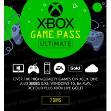 XBOX GAME PASS ULTIMATE 7 DAYS CONVERSION USA
