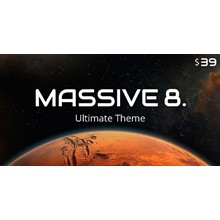 Massive Dynamic - russification of the theme [8.0]
