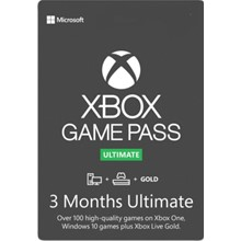 🟢XBOX GAME PASS ULTIMATE |3 MONTHS for new accounts