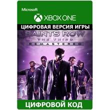Saints Row The Third Remastered XBOX ONE ключ
