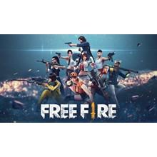 Free Fire 110+10 Diamonds (Gift Pin)