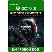 Mass Effect Andromeda Standard Recruit XBOX ONE ключ