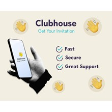 ClubHouse Invite \ to use Fast delivery ⚡