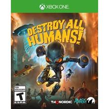 Destroy All Humans! Xbox Live Key