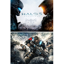 Gears of War 4 and Halo 5: Guardians Bundle XBOX Key