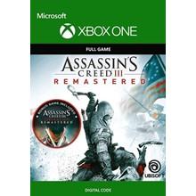 🌍 Assassin´s Creed III Remastered XBOX / KEY 🔑