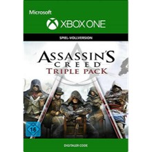 🌍 Assassin´s Creed Triple Pack XBOX / KEY 🔑