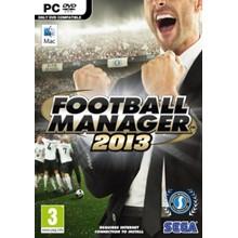 Football Manager 2013 STEAM KEY RU + GIFT 🎁