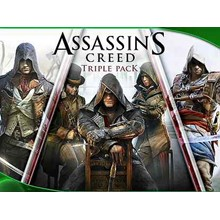 Assassin´s Creed TRIPLE PACK (AC PACK) 🔑 XBOX ONE / X