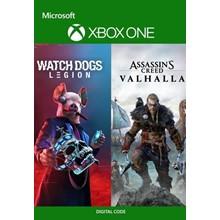 🎮🔑Assassin's Creed Valhalla+Watch Dogs:Legion/KEY🔑🎮