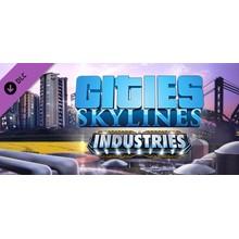Cities: Skylines - Industries DLC STEAM KEY RU+CIS