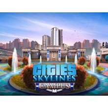 CITIES SKYLINES CAMPUS (STEAM) + INSTANTLY + GIFT