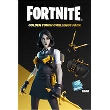 Fortnite Golden Touch Challenge Pack XBOX  🌍🔑CASHBACK