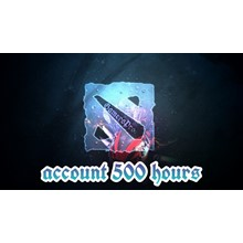 ⏩ DOTA 2 account ⭐ 500 hours ✅ Native mail 🦄