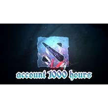 ⏩ DOTA 2 account ⭐ 1000 hours ✅ Native mail 🦄