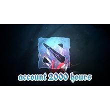 ⏩ DOTA 2 account ⭐ 2000+ hours ✅ Native mail 🦄