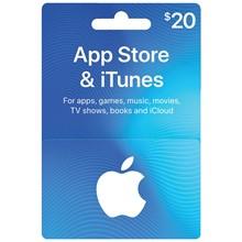 🎵ITUNES GIFT CARD $20 USA🎵