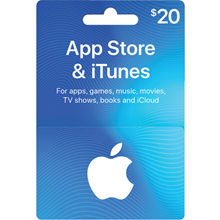 iTUNES GIFT CARD - $20 ✅(USA)