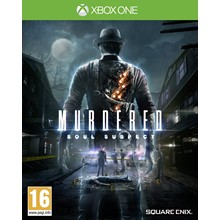 🌍 Murdered: Soul Suspect  XBOX ONE / SERIES X S/KEY 🔑