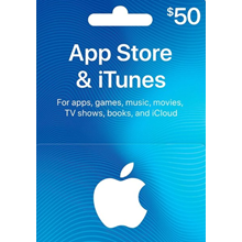iTUNES GIFT CARD - $50 ✅(USA)