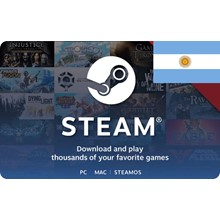 100 ARS STEAM WALLET GIFT CARD - (ARGENTINA)