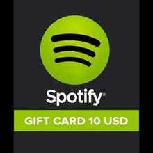 Spotify Gift Card 10 USD ✅(USA)