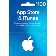 iTUNES GIFT CARD - $100✅(USA)